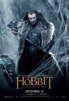 Thorin Escudo de roble / Rey en las profundidades de las montañas.