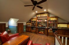Attic Remodel Design Ideas, Pictures, Remodel, and Decor - page 6