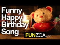 Funny Happy Birthday Song of Century sung by Funzoa Mimi Teddy. Gift this Funniest Happy Birthday song to someone today. Best cheeky song for your frien. Happy Birthday Lied, Happpy Birthday, Happy Birthday Funny Humorous, Happy Birthday Ecard, Happy Birthday Daughter, Birthday Wishes Funny, Birthday Quotes, Birthday Ideas, Birthday Cards