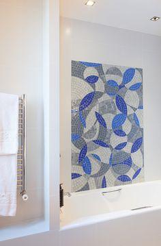 Superior family rooms can accomodate up to 3 guests  - Made to measure handmade mosaics - Montparnasse - Hotel Aiglon Paris - Esprit de France - #espritdefrance #hotelaiglonparis