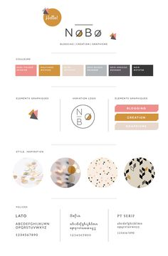 Créer une brand board — Atelier Nobo – Expolore the best and the special ideas about Fashion logo design Logo Design, Web Design, Brand Identity Design, Graphic Design Branding, Layout Design, Identity Branding, Brochure Design, Visual Identity, Design Packaging