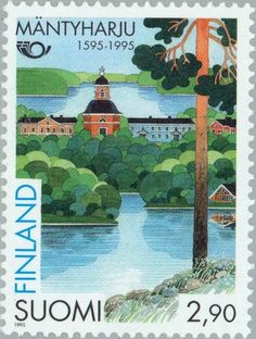 Church of Mäntyharju Stamp Collecting, Postage Stamps, Finland, Tourism, Nostalgia, Collections, History, Gifts, Design