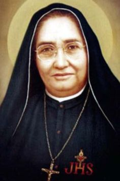 Newly canonized saint.  Maria Guadelupe Garcia Zavala, co-foundress of the Congregation of the Handmaids of St Margaret Mary (Alacoque) and the Poor.