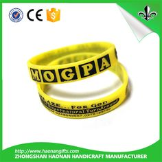 New products custom made silicone bracelet for Non-Profit and Fraternal Organization