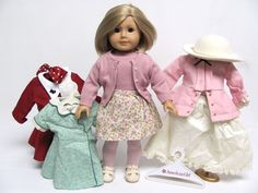 American Girl KIT Doll ORIGINAL Outfit CHRISTMAS + GREEN BIRTHDAY DRESS Lot MORE #AmericanCharacter #DollswithClothingAccessories