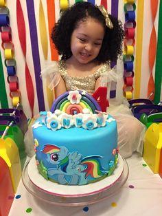 Rainbow Dash Birthday Cake:  Rainbow Birthday: Rainbow Dash Cake