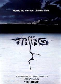 """Pôster de """"O Enigma de Outro Mundo"""", filmaço de John Carpenter."""