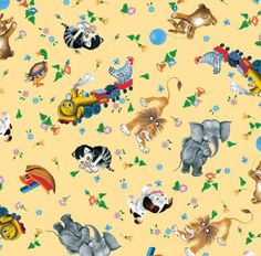 Little Golden Books Fabric .... maybe a baby quilt using it and one or more Little Golden Books?