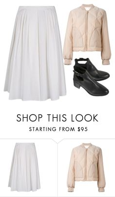 """""""French Style #3"""" by mari-marishka ❤ liked on Polyvore featuring RED Valentino and See by Chloé"""