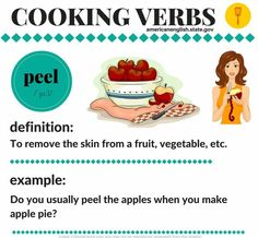 Cooking verbs #learnenglish