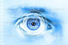 Illustration about Technology scan eye for security or identification.Eye with scanner and computer interface. Illustration of identify, futuristic, access - 20873020 Wearable Computer, Spy Girl, Science Illustration, Access Control, Futuristic, Security Technology, Html, Schools, Wattpad