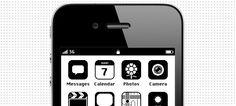 O designer russo Anton Repponen criou uma interface para iPhone de acordo com a interface gráfica que os sistemas operacionais tinham anos atrás.
