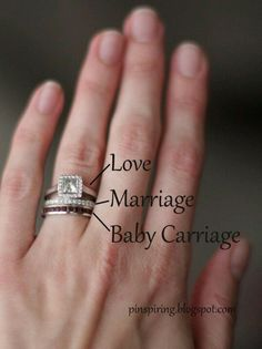 Love this idea. Incorporate a Mother's ring.