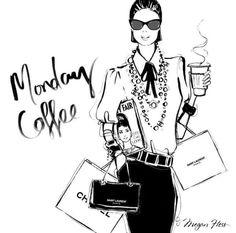 Monday coffee Megan Hess