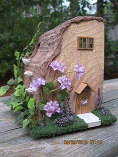 Mouse house front By: juliecfarrow