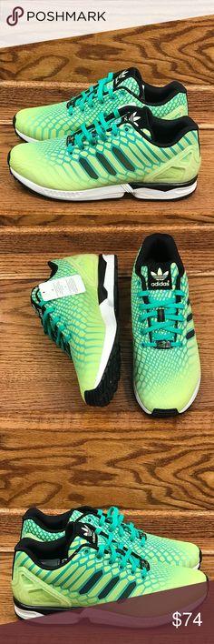 release date: 53106 aebd4 🎁Adidas ZX Flux Xeno Torsion Green White Shoes Adidas ZX Flux Xeno Torsion  Green White