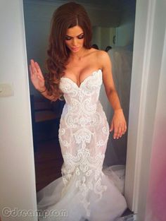 mermaid wedding dress wedding gown