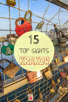 Top sights in Krakow. Best and must see sights in Krakow for a weekend of sightseeing in the Poland city.