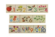 MT Ex counting numbers chart wide washi tape (1 metre). $1.60, via Etsy.