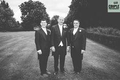 The boys. Weddings at The Johnstown Estate, photographed by Couple Photography.
