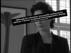 West Wing Confessions    #westwing #mandy