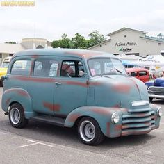 Unique creation found by Chevy, Chevrolet, Co E, Van, Trucks, Long Tops, Vehicles, Classic, Restoration