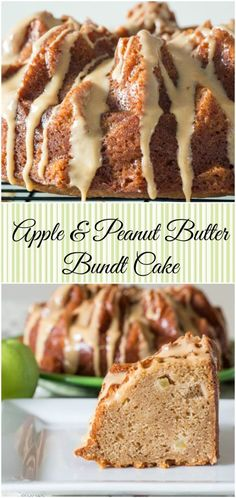 Apple & Peanut Butter Bundt Cake for #BundtBakers from Sew You Think You Can…