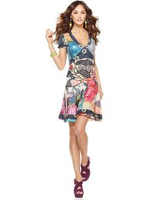 Desigual dress. They have Medium (my size), but I prefer to find Desigual on sale... I just can't justify paying full price ($124.00).
