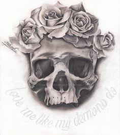 Love Me Like My Demons Do by DaniRod910
