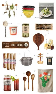 Unruly Things // gift guide for the foodie