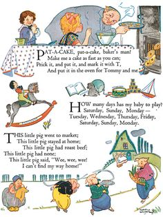 this is an example of rhyme. English Nursery Rhymes from Dover Publications Nursery Rhymes Poems, Rhymes Songs, Nursery Rymes, Pomes, Kids Poems, Rhymes For Kids, Dover Publications, Vintage Nursery, Chant