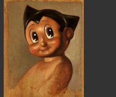 John Wellington: ASTROBOY PORTRAIT