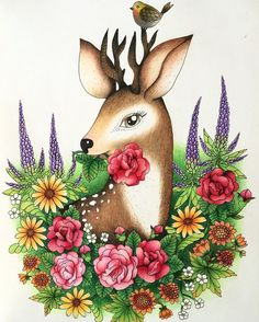 #blomstermandala #mariatrolle #coloringbook #coloring #coloring_masterpieces #coloring_secrets #prismacolor