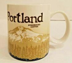 Starbucks Coffee Mug Portland 16 Oz 2012 #Starbucks