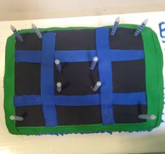 Trampoline Birthday Cake Trampoline Cake, Ivy, Diaper Bag, Birthday Cake, Cakes, Birthday Cakes, Diaper Bags, Food Cakes, Hedera Helix