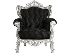 Tendence Opulence Sessel Schwarz von Kare Design
