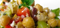 Marinated Chickpea Salad | Andrea Beaman • Thyroid Expert • Holistic Health & Organic Diet Expert