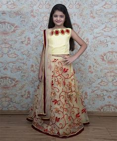 Shilpi Datta Som Embroidered Lehenga With Choli