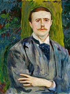 John Singer Sargent Portrait de  Jacques Emile Blanche