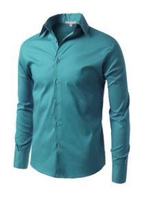 teal groomsmen shirt | mens wedding attire | Pinterest | Groomsmen ...