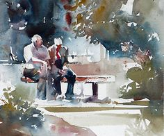 Kristi Grussendorf - Support- Watercolor - Painting entry - August 2016 | BoldBrush Painting Competition