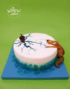 Ice age cake – Cake by Tamara Eiszeitkuchen – Kuchen von Tamara Cute Cakes, Yummy Cakes, Food Cakes, Cupcake Cakes, Ice Age Cake, Patisserie Fine, Funny Cake, Animal Cakes, Delicious Cake Recipes
