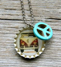Really cute idea for a necklace