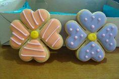 Galleta decorada primavera