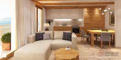 Apartamentowiec w górach, w Szklarskiej Porębie - Kuchnia, styl nowoczesny - zdjęcie od Add Design