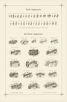 These aren't actual letterforms, but they are typographic applications from the Victorian era