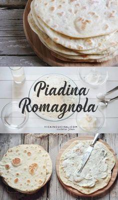 Piadina romagnola ricetta originale di @vicaincucina