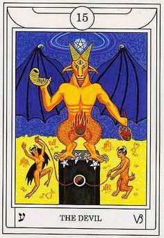 The Devil - Golden Dawn Magical Tarot