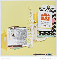Made with @Gail Mounier Calico april kits and add-ons, Spencers!