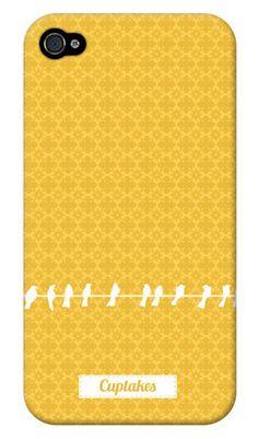Yellow birds iPhone case.